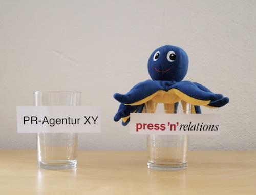 Prakti-Routine bei Press'n'Relations:  Clippings, PressFile und Pizza