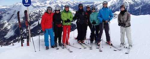 Was hat Kommunikation mit Skifahren zu tun?