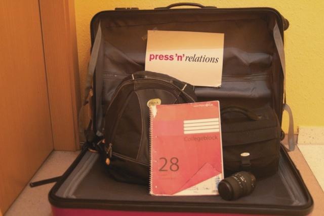 Ein Praktikant geht auf Reisen