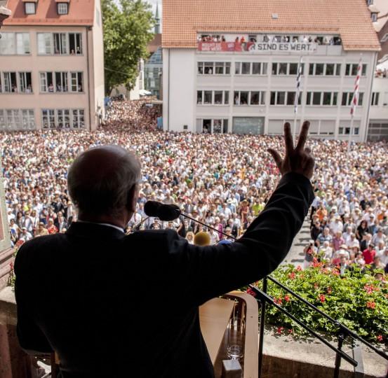 Bericht aus… Ulm: Schwörmontag