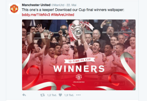 Screenshot Twitter (@ManUtd)