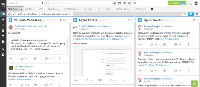 Nützliche Tools für die Medienarbeit: HootSuite