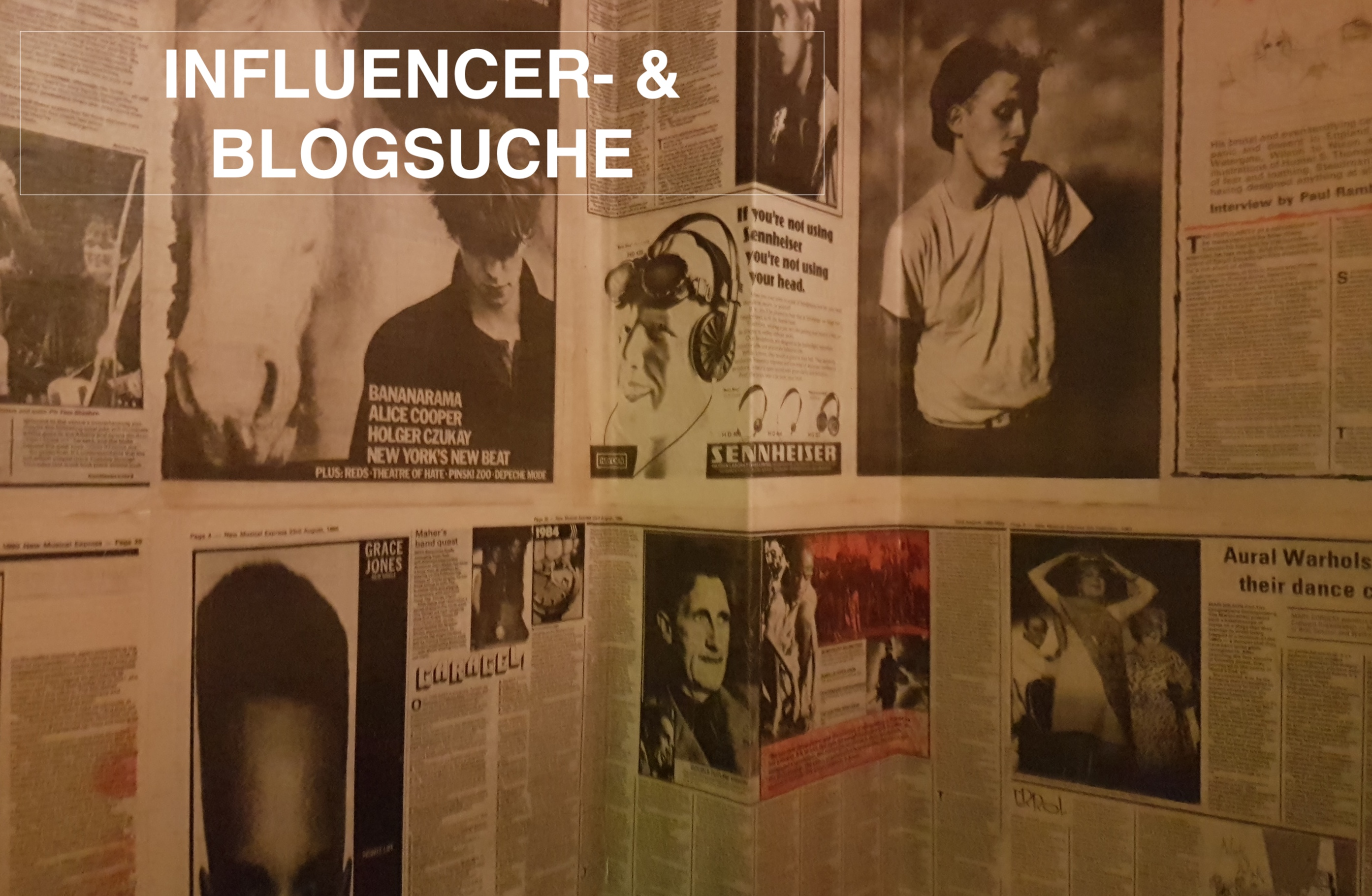 Monthly Clicks: Juli 2018 – Influencer- & Blog-Suche