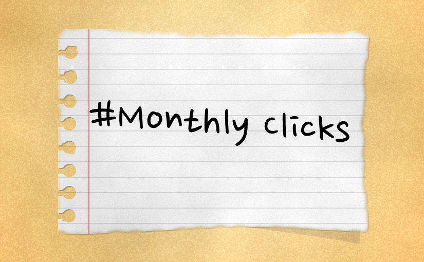 Monthly Clicks: Oktober 2018