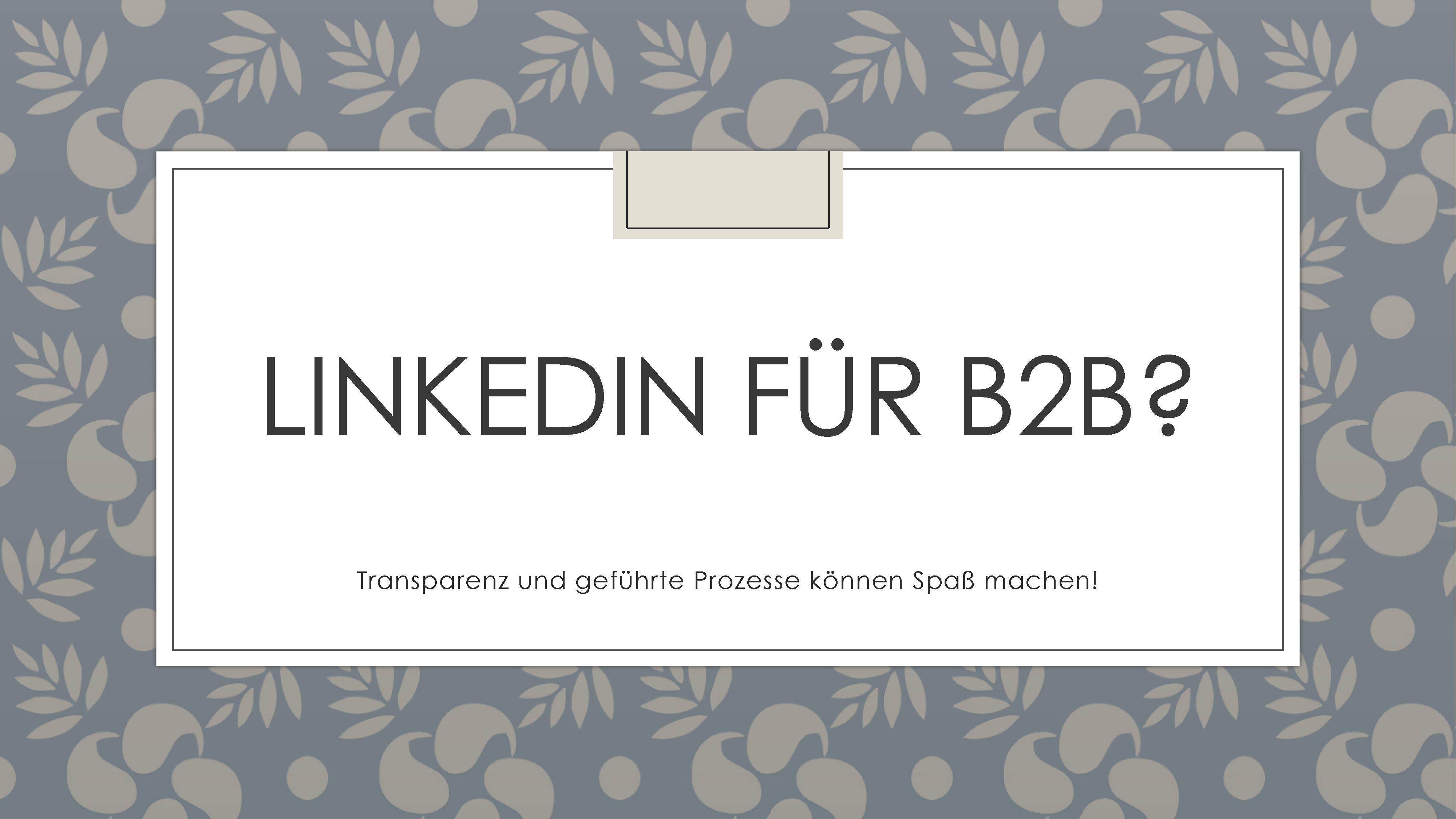 Wirksame Prozessschablonen für LinkedIn-Kampagnen