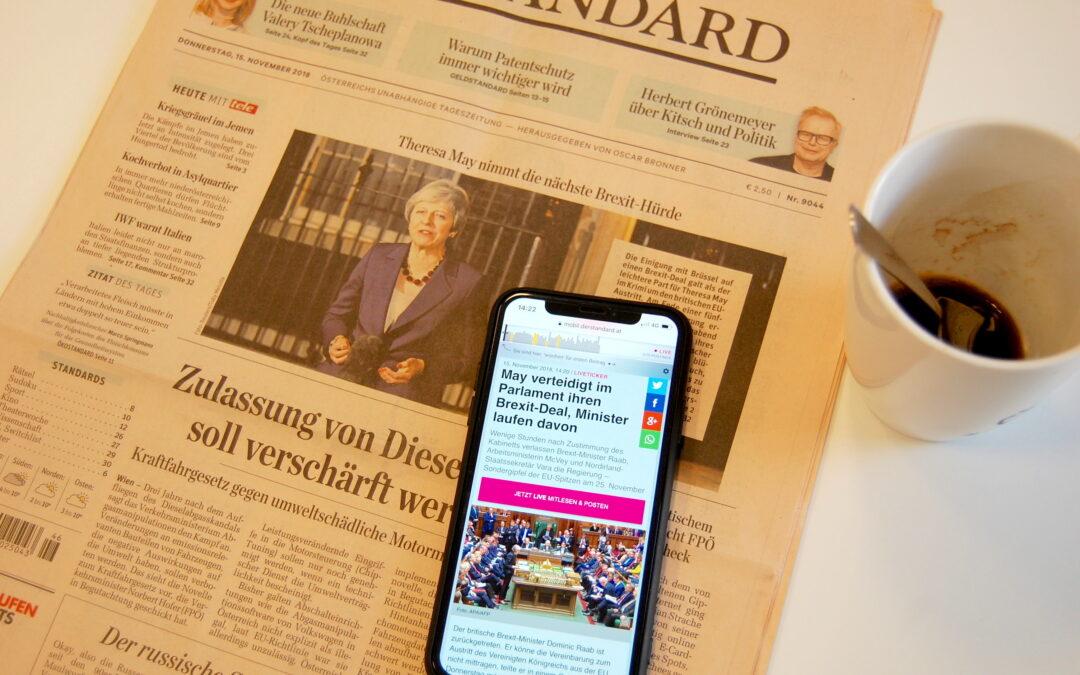 Print vs. Online: Welchen Medien gehört die Zukunft?