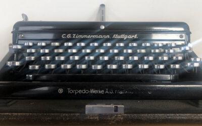 Schreiben wie mit der Schreibmaschine