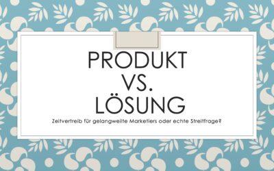 Heute schon um Lösungen im B2B-Marketing gestritten?