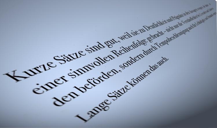 Über kurz oder lang: Sätze