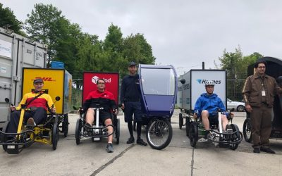 Letzte Meile: In Berlin wird die Paketzustellung mit Lastenrädern fortgesetzt