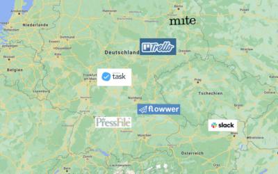 Alles online: Die digitale Landkarte von Press'n'Relations