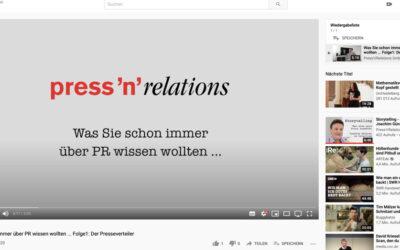 Was Sie schon immer über PR wissen wollten … Folge 1: Der Presseverteiler