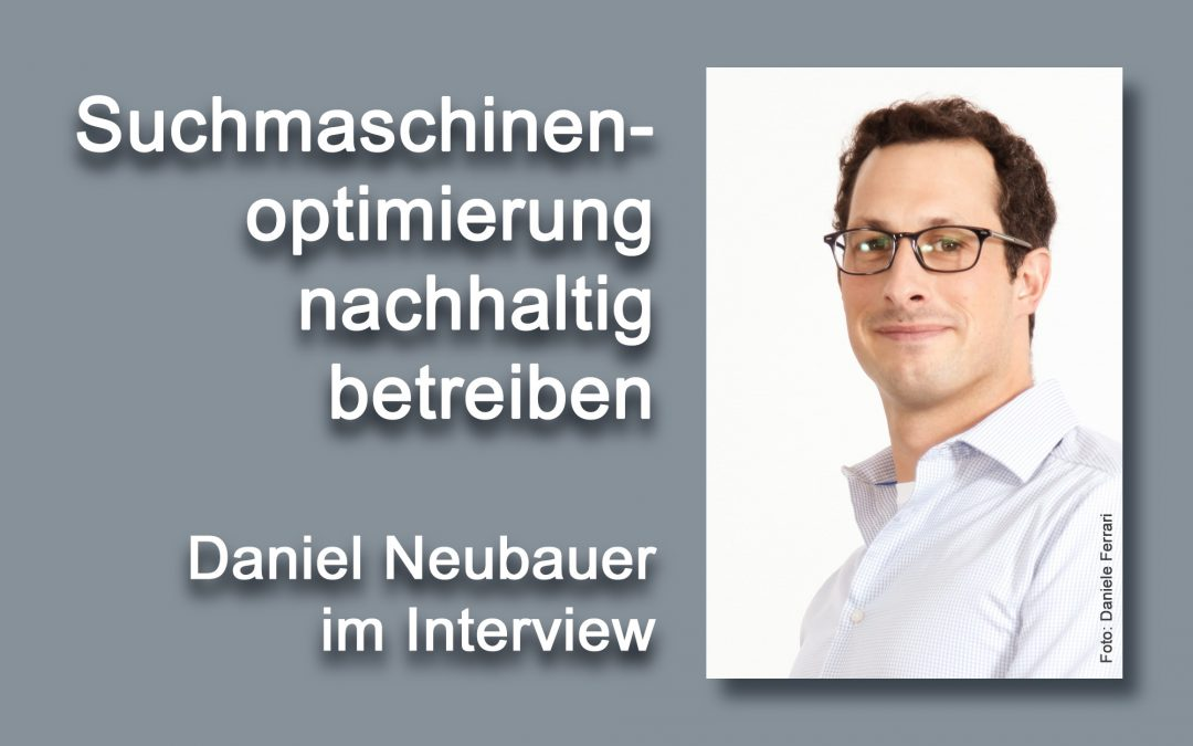 Portrait Daniel Neubauer (Foto: Daniele Ferrari)