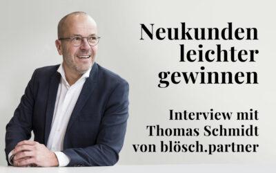 Leads leichter generieren und besser managen – Thomas Schmidt im Interview