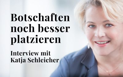 Besser kommunizieren – Katja Schleicher gibt Tipps