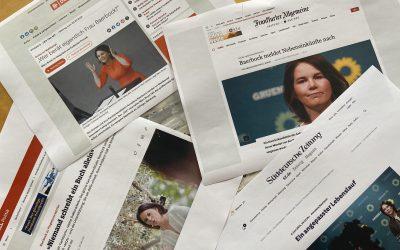 Wenn's schief läuft: Kommunikationspannen bei der Kanzlerkandidatin