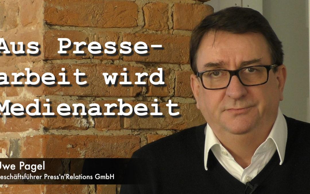PnR-Video: Aus Pressearbeit wird Medienarbeit